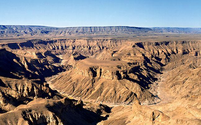 Höllenwindung ('Hell's bend') des Fischfluss Canyons am Hauptaussichtspunkt.  Foto: Gondwana Collection
