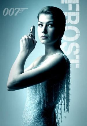 James Bond girl Rosamund Pike as Miranda Frost in Die Another Day