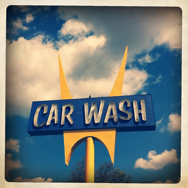 Five Points Hand Car Wash (Hipstamatic) by TooMuchFire, via Flickr