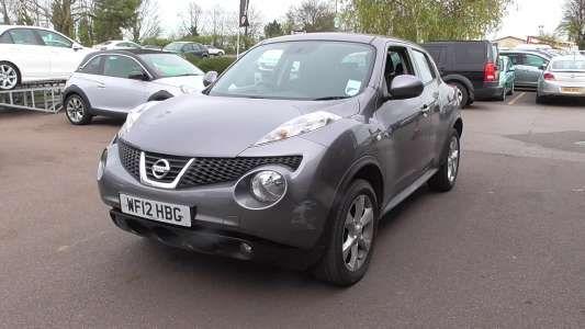Used 2012 (12 reg) Grey Nissan Juke 1.6 Acenta 5dr for sale on RAC Cars