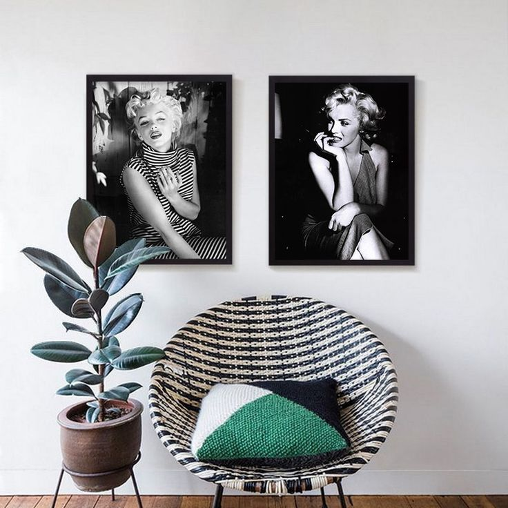 High Quality Marilyn Monroe Wall Pictures Canvas Art Painting Print Poster  For Living Room Bedroom Home Part 69