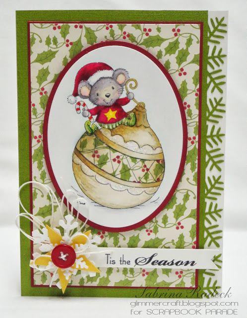 Aspiring to Creativity: First Spectrum Noir Christmas Card Class