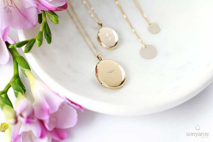 Yellow Gold Lockets to keep your love close