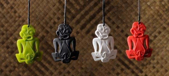 Tiki Pendants from Native Brand www.nativebrand.co.nz