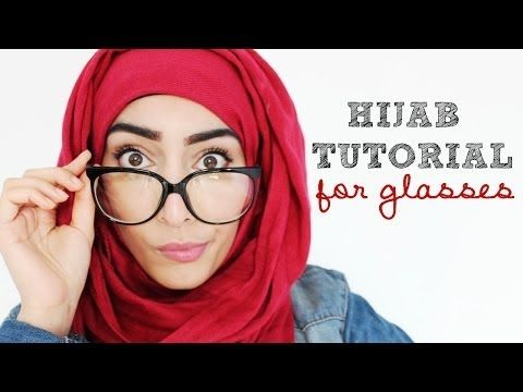 Hijab tutorial for glasses, My Crafts and DIY Projects
