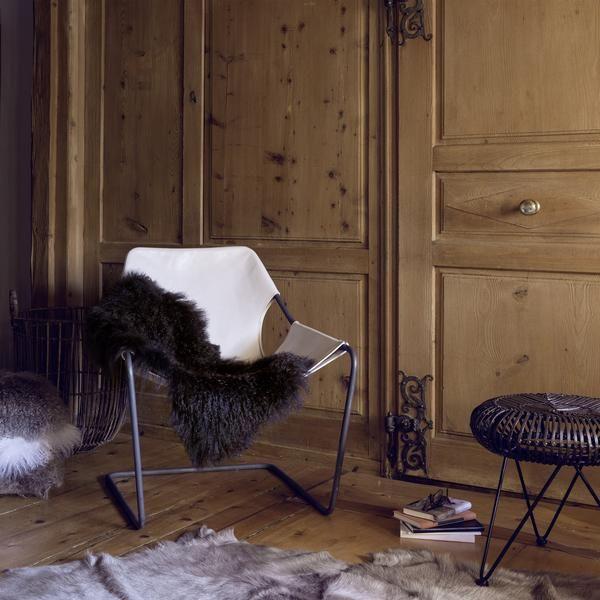 Haans Lifestyle Hocker oval Rattan dunkelbraun - CHF 335
