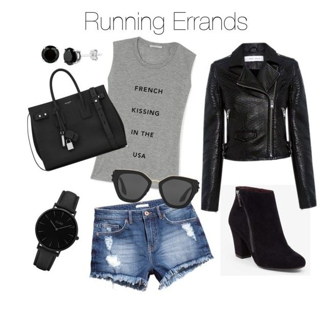 Run Around by melanie-quail-cotterill on Polyvore featuring polyvore, fashion, style, Rebecca Minkoff, IRO, H&M, BCBGeneration, Yves Saint Laurent, CLUSE, Prada and clothing