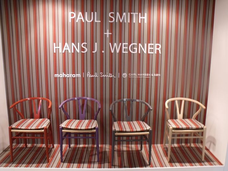 Carl Hansen + Paul Smith 2014  #mobilimania #budapest #milan #isaloni #carlhansen www.mobilimania.hu