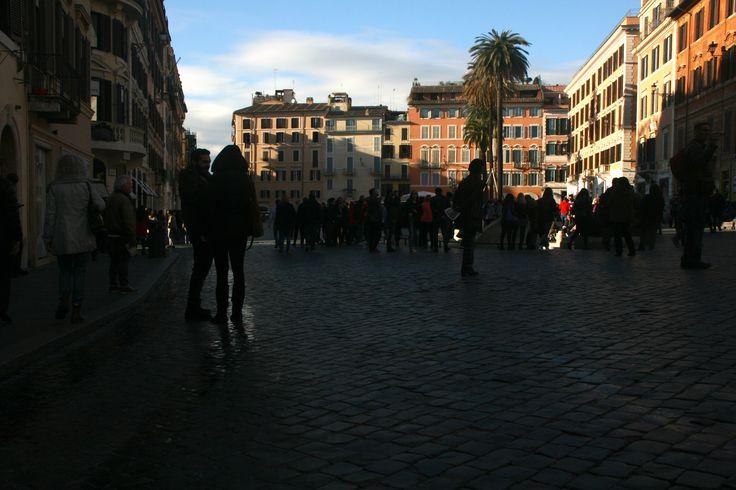 #SpanishSteps #Roma #GoldenHour