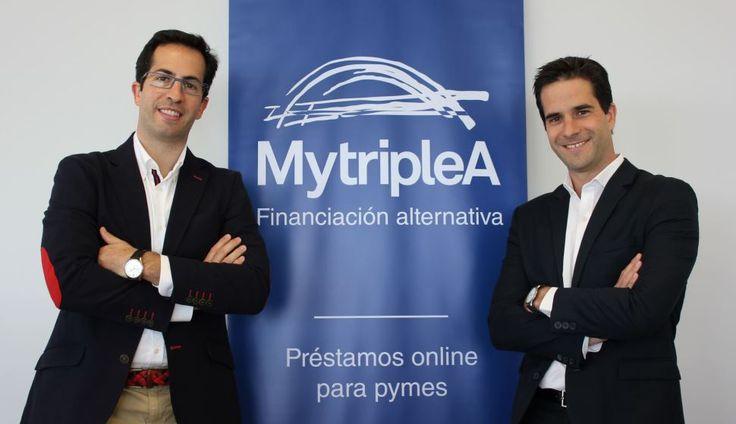 El 28 de Abril de 2016 la revista #ActualidadEconómica de #Expansión premió a #MytripleA como #empresa #revelación. ¿Quieres saber más? Pincha en la imagen de #Sergio y #Jorge, #CEOs y #cofundadores, para saber más.