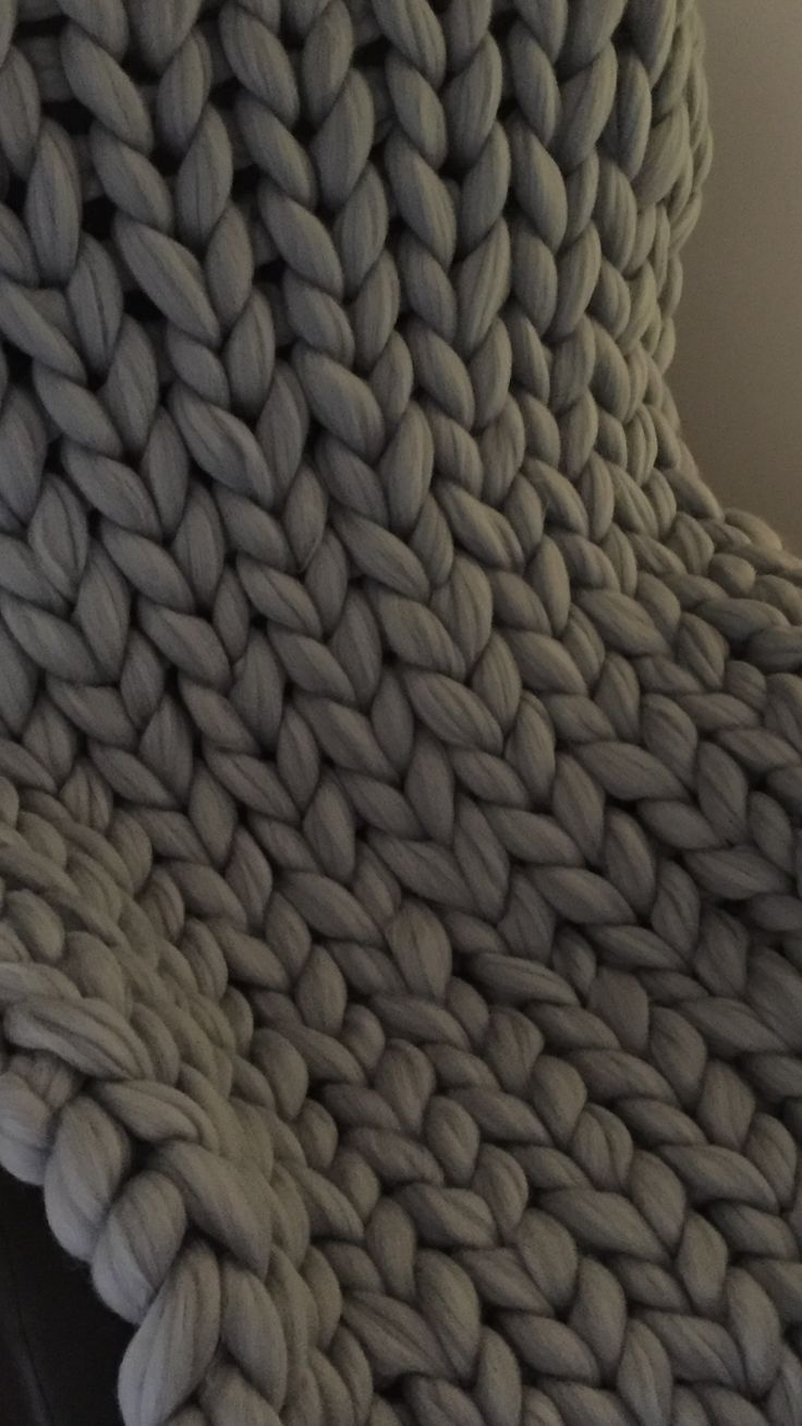 #chunkyknitstyle #blanket #grey #luxury #special #price #loveit