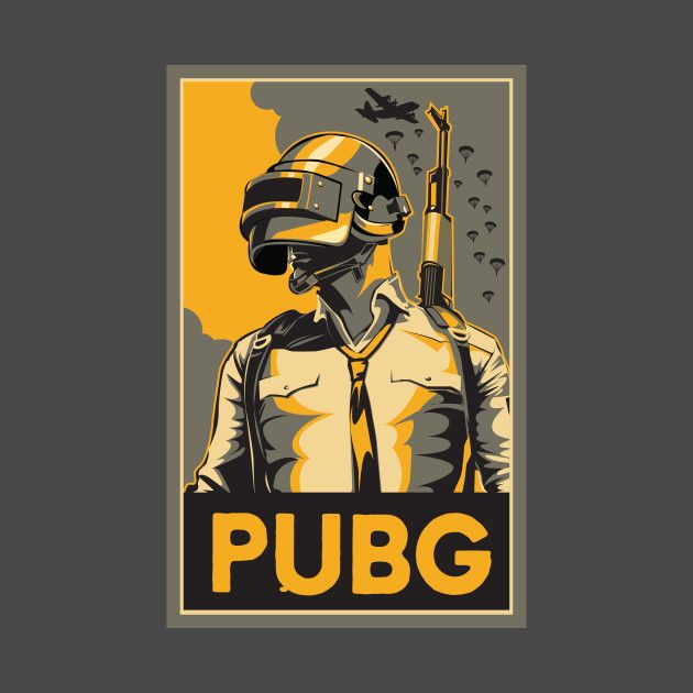 Check Out This Awesome 'PubG' Design On @TeePublic!