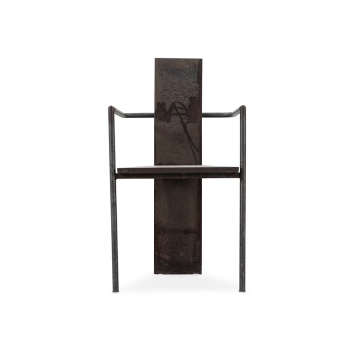 Iron Chair by Jonas Bohlin.