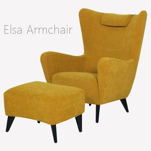 The Elsa Armchair From Sits, Scandinavian Inspired Armchair
