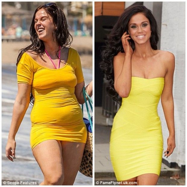 Geordie Shore Vicky dropped 5 dress sizes in 6 months.
