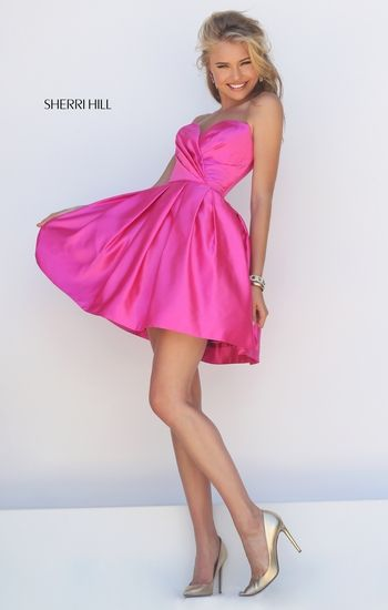 I love this Sherrihill prom dress! Im thinking its more homecoming however... item #50147