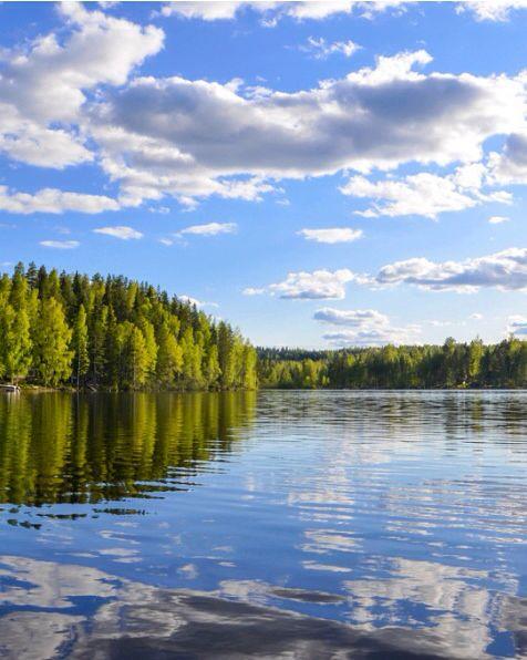 Herrlicher #Saimaa-See in Südkarelien #Finnland
