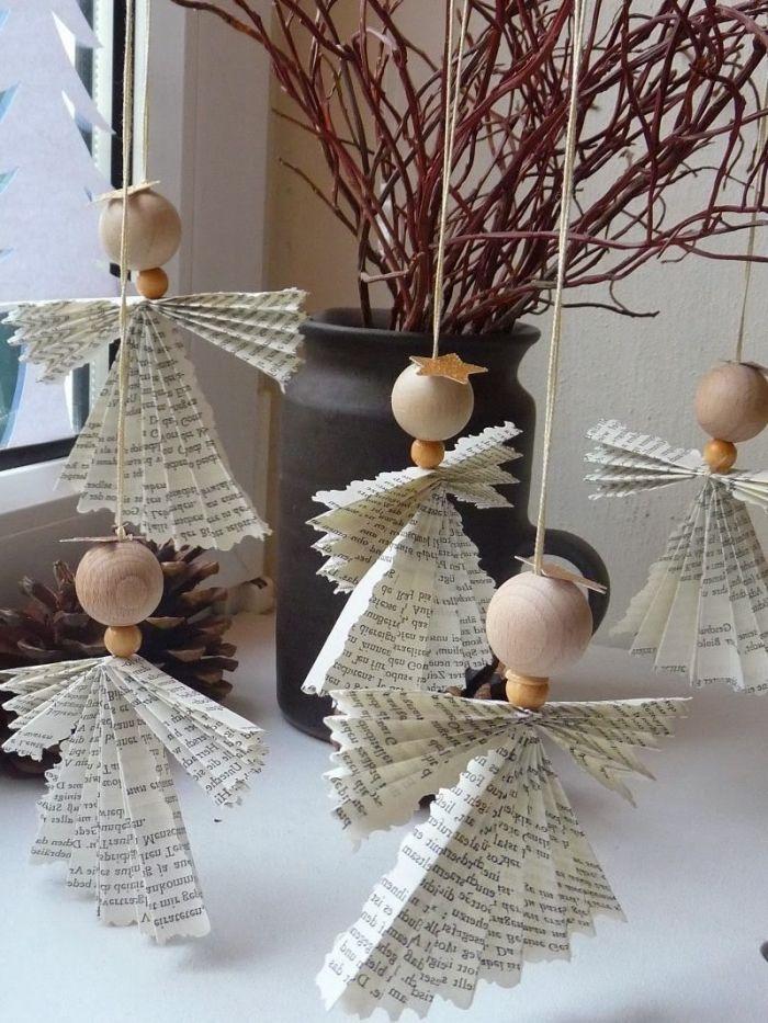 1001 Idees Pour Une Decoration De Noel A Fabriquer En Papier