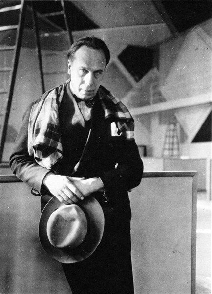 Theo van Doesburg (Christiaan Emil Marie Kupper) (August 30, 1883 - March 7, 1931) Dutch architect, poet, grafic designer, painter, publicist and founder (magazine 'De Stijl').