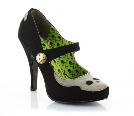 Bettie Page Shoes by Heart of Haute