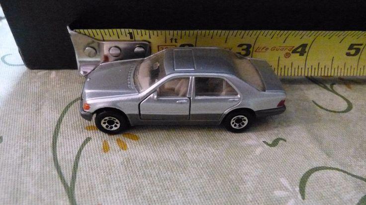 "1992 Matchbox Mercedes Benz 600SEL 3"" Die Cast 1:67 Scale Model Silver #Matchbox #Mercedes"