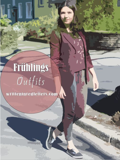 Tolle Outfits für den Frühling: Lagenlook, Frühlingsoutfits, Outfitinspiration vom Fashionblog Written in Red Letters und anderen Blogs