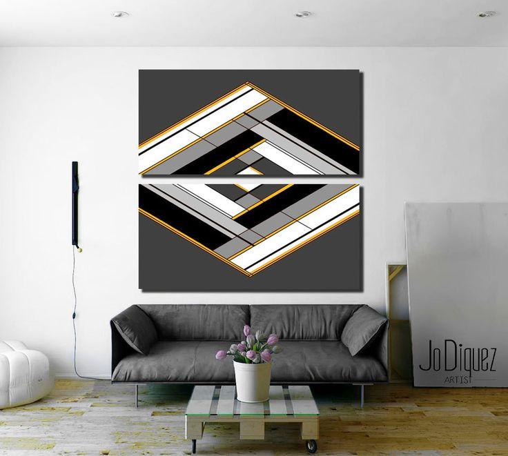 Die besten 25+ Geometrische malerei Ideen auf Pinterest
