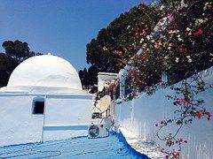 Túnez, Casas, Pueblo, Blanco, Azul