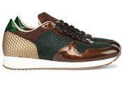 Groene Gino-B schoenen Ibiza sneakers