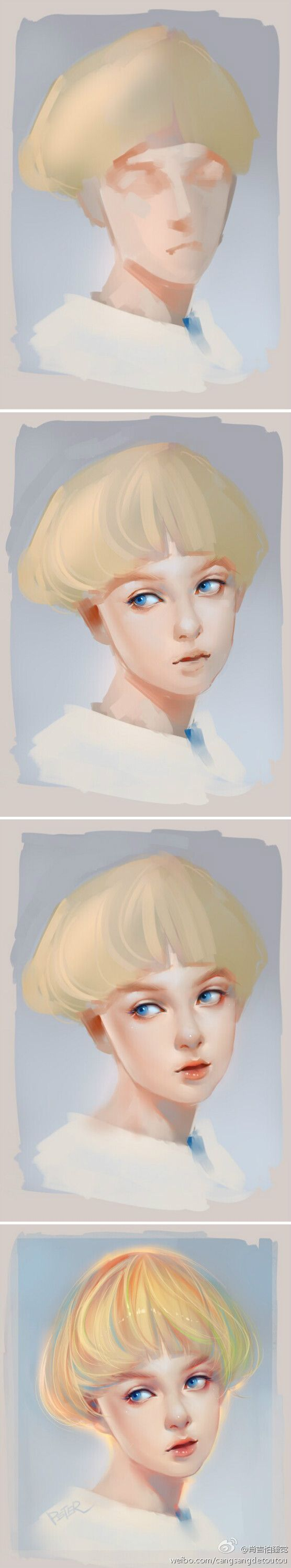 painting step by step2 #digitalpainting
