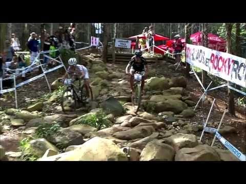 UCI MTB XC World Cup Women RPA 2012 - Maja overtaking