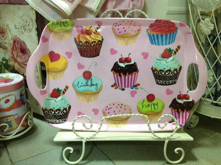 Cupcake Tray - pink