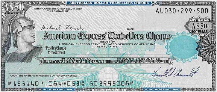 American Express Traveler S Cheques I Thought These Were