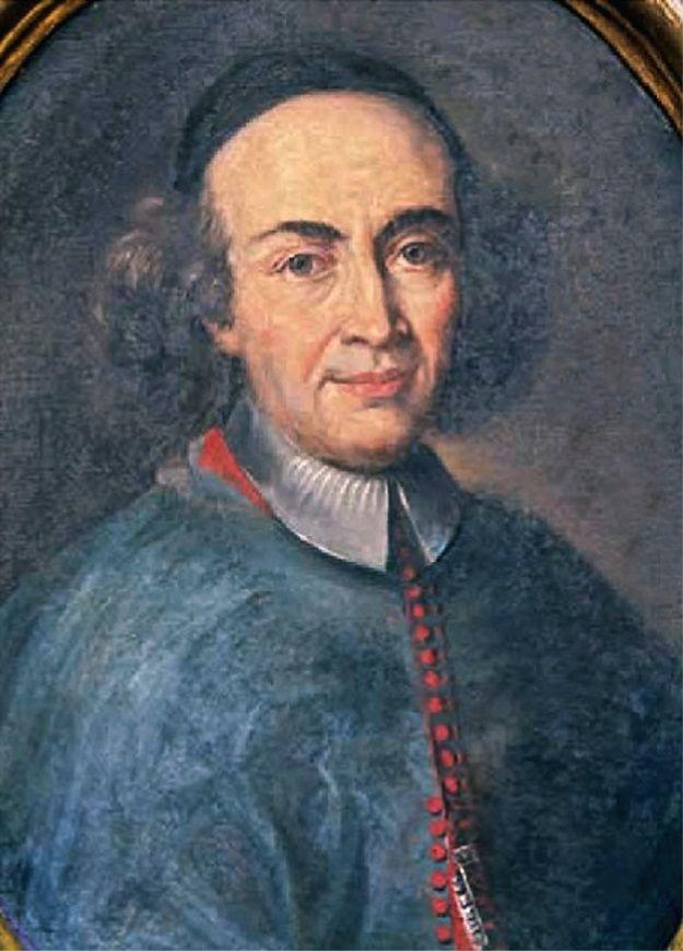 ANONIMO MARCHIGIANO, Ritratto di mons. Carlo Maria Pianetti, vescovo di Larino (XVIII sec.), olio su tela