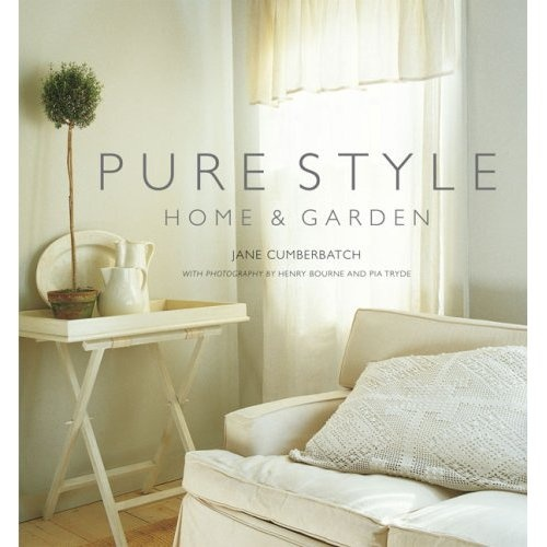 Book cover: my living room on Long Island photo by Henry Bourne  for Pure Style book by Jane Cumberbatch