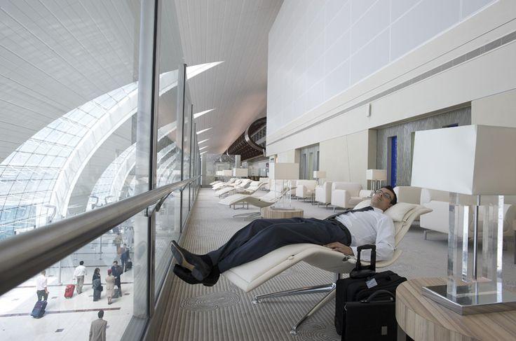 Business Class Lounge - Dubai International Airport Terminal 3
