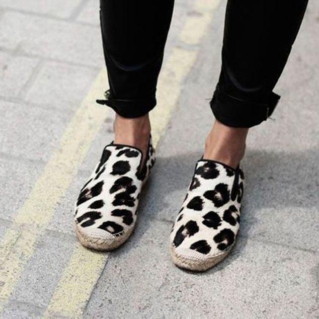 Celine Leopard Print Espadrilles | Shoes
