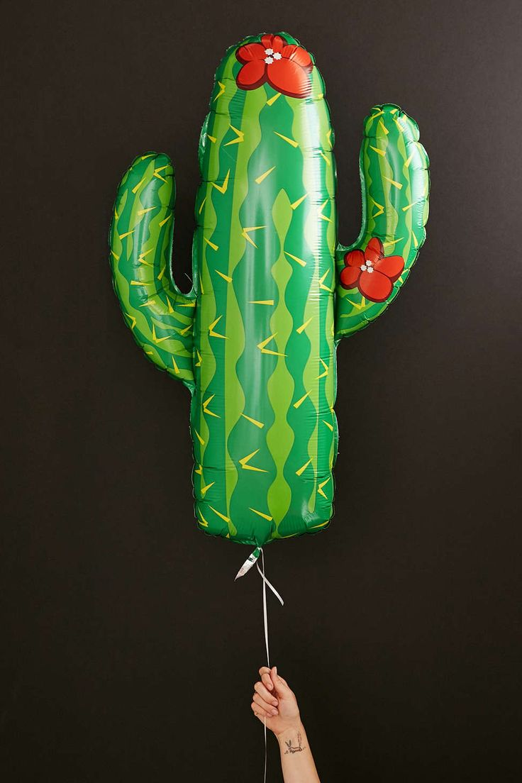 Cactus Balloon - Urban Outfitters