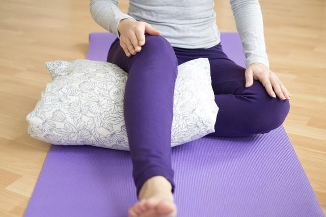 Always consult your physician before beginning any practice of yoga.  Yoga Postures to Help Bad Knees