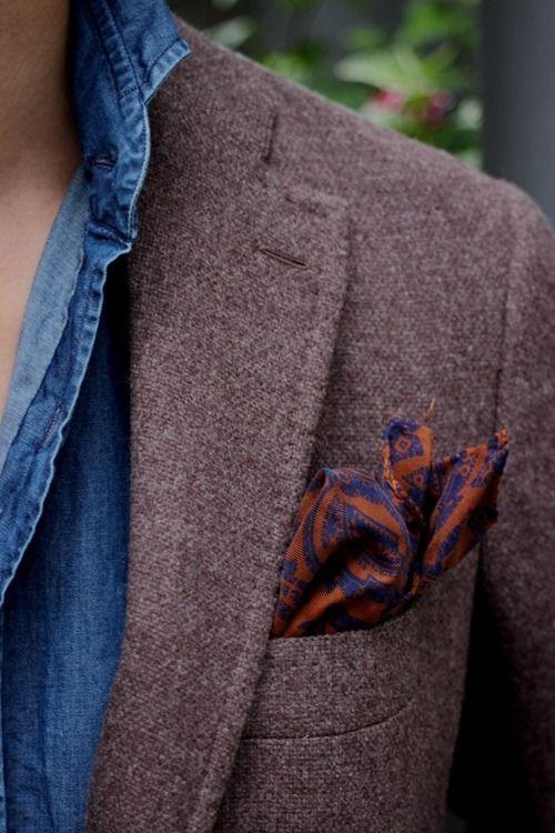 downeastandout:    Texture/Color    such a fantastic tweed.