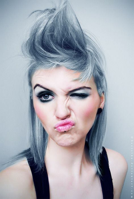 punky hair styles best 20 punky hair ideas on punky color blue 9281