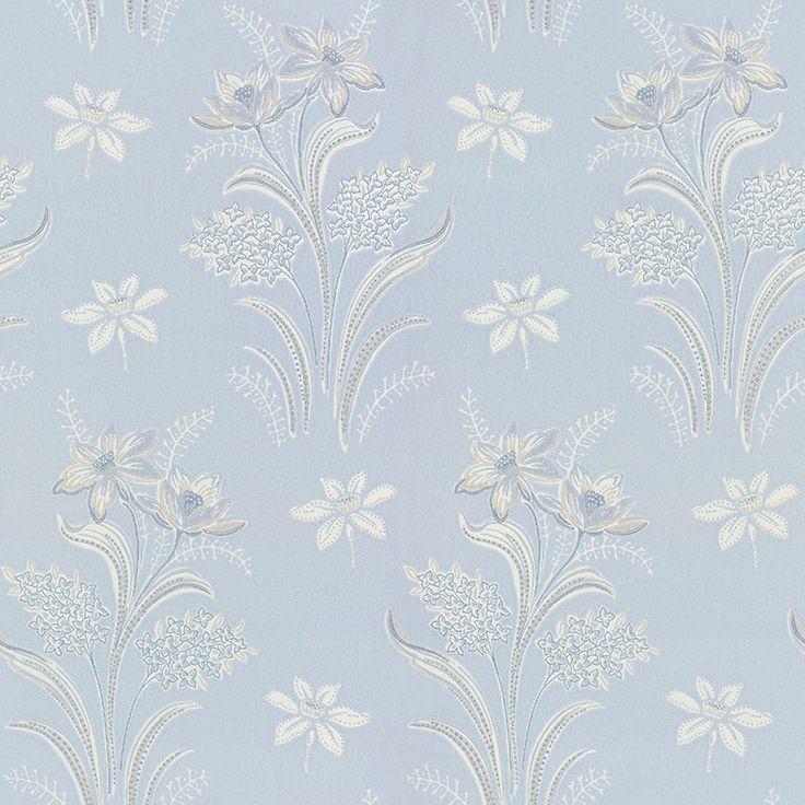 Tapet – Solbacken blue/grey från Byggfabriken
