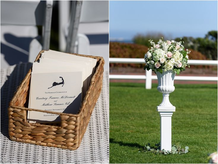 Courtney and Matt's Cape Cod Wedding at  Wychmere Beach Club