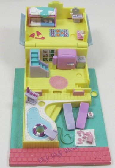 1993 Vintage Polly Pocket Summer House Bluebird by OnlyPollyPocket