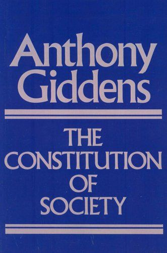 9 best anthony giddens images on pinterest book lists books to giddens a the constitution of society outline of the theory of structuration berkeley ca university of california press fandeluxe Choice Image