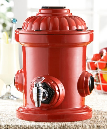 Take a look at this Red Hydrant Beverage Dispenser by The Jay Companies on #zulily today!