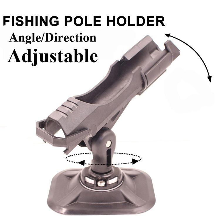 2016高級釣り装置インフレータブルボートsupボード釣りポールロッドホルダー、回転式、角度調整可能、方向調整可能
