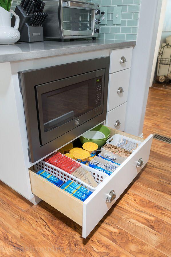 Best 25 Under Cabinet Storage Ideas On Pinterest: Best 25+ Under Counter Microwave Ideas On Pinterest