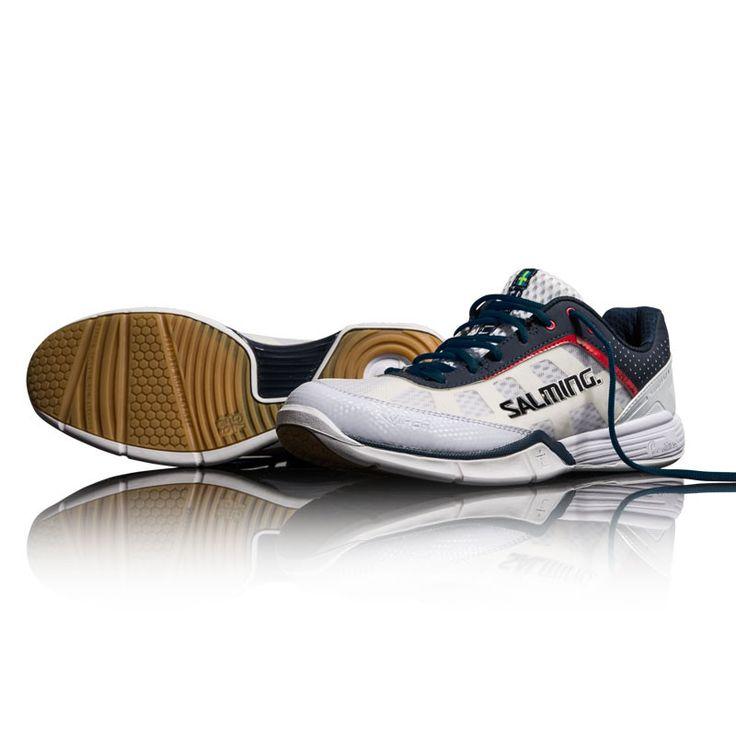 Salming Viper 2.0 White/Navy Squash Shoes Salming 2016-2017