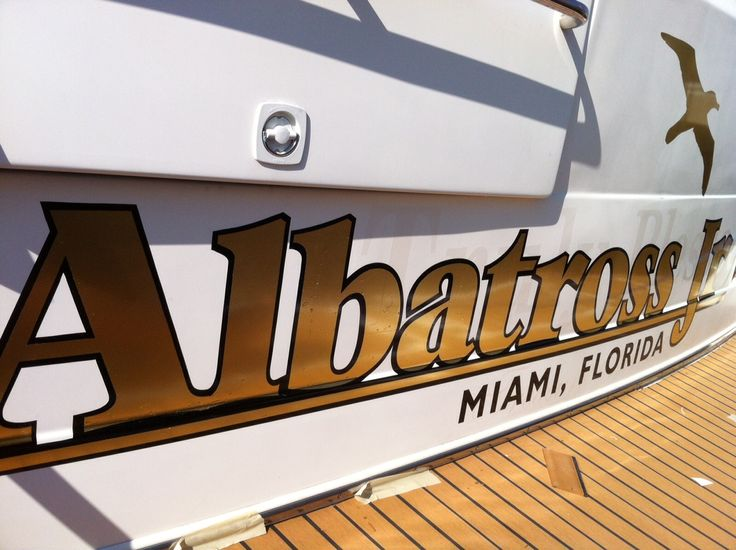 Best  Boat Name Decals Ideas On Pinterest Name Decals For - Boat decals and lettering   easy removal